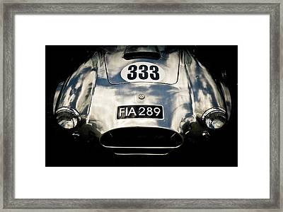 Shelby Cobra Framed Print by Phil 'motography' Clark