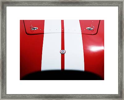 Shelby Cobra Framed Print by Shelby Waltz