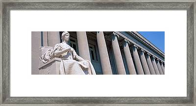 Shelby County Courthouse Memphis Tn Framed Print by Panoramic Images
