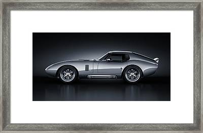 Shelby Daytona - Bullet Framed Print by Marc Orphanos