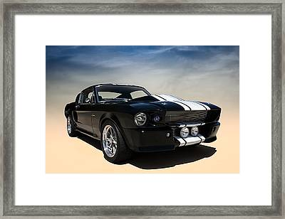 Shelby Super Snake Framed Print