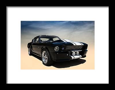 Classic Ford Mustang Framed Prints