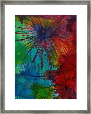 Shelbys  Flowers Framed Print