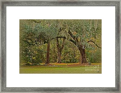Sheldon Church Yard Framed Print