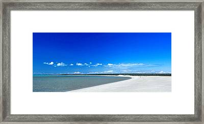 Shell Beach Framed Print by Yew Kwang
