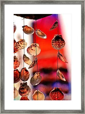 Shell Mobile Framed Print by Mike Flynn