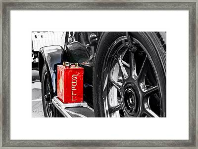Shell Oil Framed Print