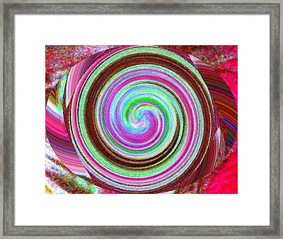 Framed Print featuring the digital art Shell Shocked by Catherine Lott