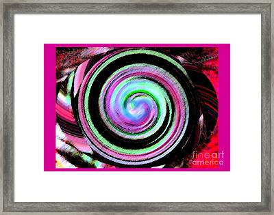 Shell Shocked Frame Framed Print by Catherine Lott