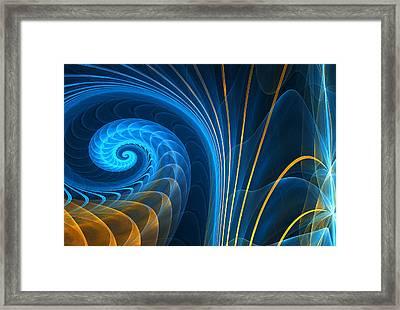 Shell's Fragility Framed Print by Lourry Legarde