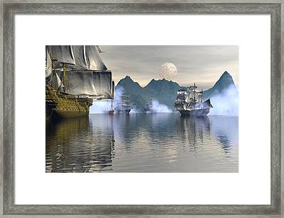 Shelter Harbor 2 Framed Print by Claude McCoy
