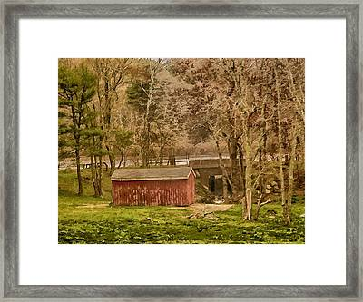 Shelter Photo Art Framed Print by Constantine Gregory