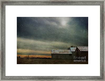 Shelter Framed Print by Terry Rowe