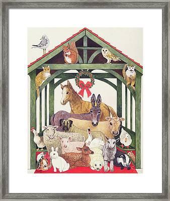 Sheltered Framed Print by Pat Scott