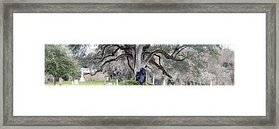 Sheltering The Past Framed Print by Max Mullins
