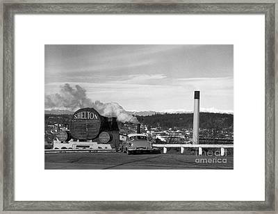 Shelton Washington Framed Print