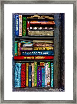Shelved-15 Framed Print by Christopher Holmes