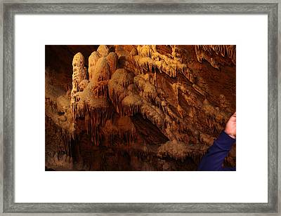 Shenandoah Caverns - 121239 Framed Print by DC Photographer