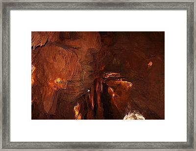 Shenandoah Caverns - 121248 Framed Print by DC Photographer