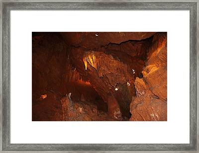 Shenandoah Caverns - 121249 Framed Print by DC Photographer