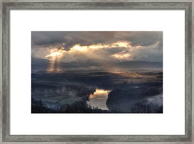 Shenandoah Light Framed Print