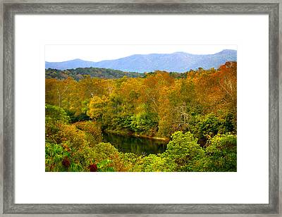 Shenandoah River Framed Print by Mark Andrew Thomas