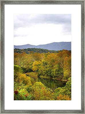 Shenandoah River Run Framed Print by Mark Andrew Thomas