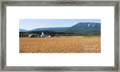 Shenandoah Valley Panorama Framed Print
