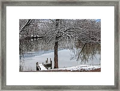 Shenandoah Winter Serenity Framed Print