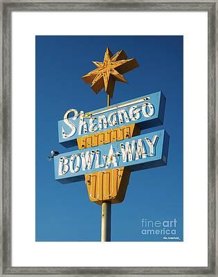 Shenango Bowl-a-way Framed Print
