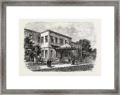 Shephards Hotel Framed Print by Litz Collection