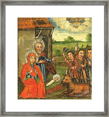 Shepherds Bow  Framed Print by Celestial Images