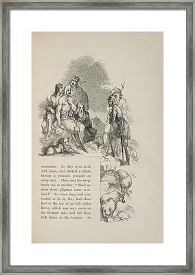 Shepherds Framed Print by British Library