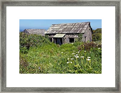 Shepherd's Cabin Framed Print by Kathleen Bishop