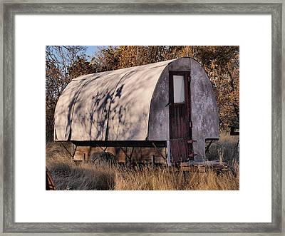 Shepherd's Castle Framed Print