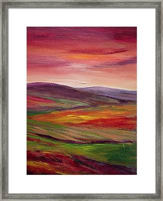 Shepherds Delight Framed Print