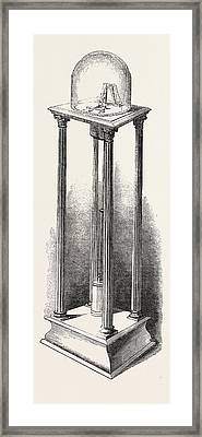 Shepherds Electric Clock For The Crystal Palace The Pendulum Framed Print