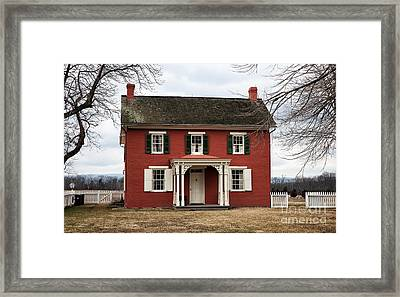 Sherfy House Framed Print by John Rizzuto