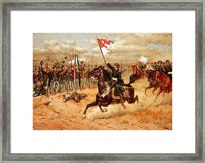 Sheridan Riding Framed Print
