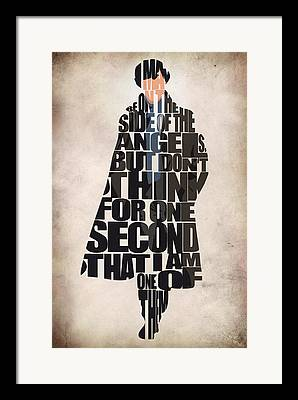 Sherlock Holmes Framed Prints