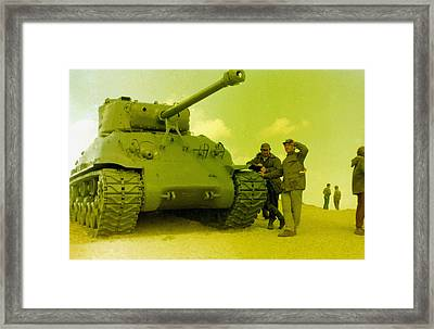 Sherman And Crew Framed Print