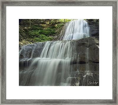 Sherman Falls Wide View Framed Print