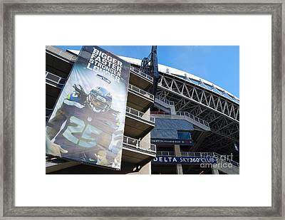Richard Sherman's House Framed Print