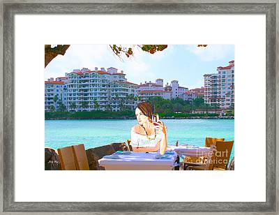 Sherry Framed Print by Judy Kay