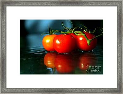 Sherry Tomatoes Framed Print by Arie Arik Chen