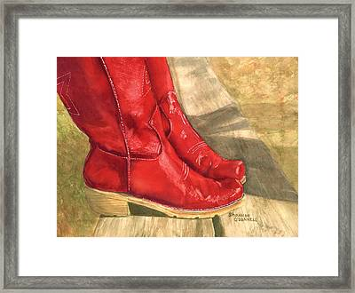 She's All That And More Framed Print by Shannon O'Donnell Shannon Gurley O'Donnell