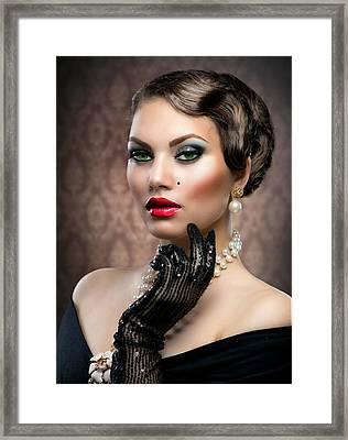 She's Got Class Framed Print by Karen Showell