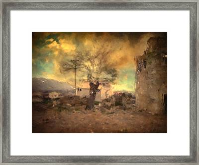 She's Like The Wind ...through My Tree Framed Print by Taylan Apukovska