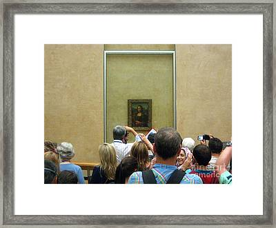 She's Looking Back Framed Print by Europe  Travel Gallery