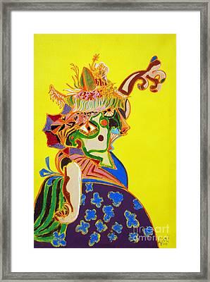 She's Seen Us Framed Print by James Lavott